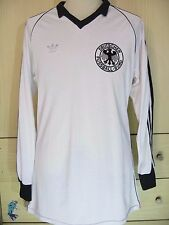 WEST GERMANY WORLD CUP 1982 LONGSLEEVED VINTAGE FOOTBALL TRIKOT SOCCER SHIRT L