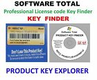 Professional License code , Key Finder , Window XP, Vista , 7 ,8.1 & 10 CD