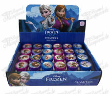 (24ct) Disney Frozen Elsa Anna Olaf Stamps Stampers Self-inking Party Favors