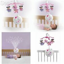 Projection Mobile Toy Disney Minnie Mouse Baby Sleep Musical Play Crib Soother