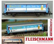 FLEISCHMANN 8337 VINTAGE CARRO MERCI FREIGHT CAR SBB-CFF WARTECH BIER SCALA-N