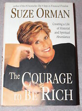 The Courage to be Rich by Suze Orman, Hardcover