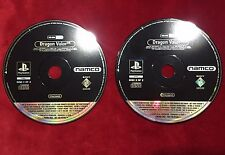 DRAGON VALOR - PLAY STATION 1 PS1 - VERSIONE PROMO COMPLETA - ITALIANO 2 CD