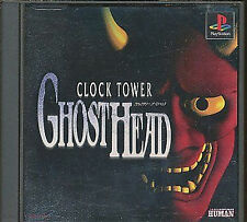 CLOCK TOWER Ghost head Playstation PS Import Japan