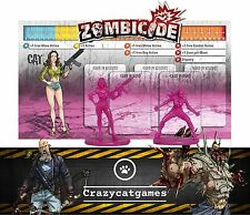 Zombicide - Cat - Kickstarter Exclusive Promo Character (Board Games)