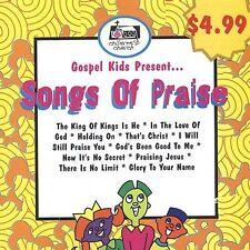 Songs of Praise Gospel Kids MUSIC CD