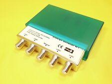 DiSEqC interruptor 4/1/sat HDTV/protección contra la intemperie