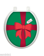 "NEW~GIFT TOILET TATTOO SEAT COVER DECAL SIZE 12"" x 13.5"" EASY TO FIX & REUSABLE"