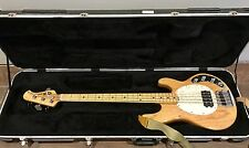 2010 Ernie Ball Music Man Classic Stingray 4 Wood Natural Bass Guitar Maple Neck