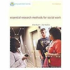 Essential Research Methods for Social Work by Rubin & Babbie, 3rd Edition