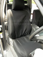 TOYOTA HILUX INVINCIBLE JEEP CAR SEAT COVERS  BLACK  WATERPROOF MADE TO MEASURE