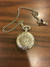 JFK POCKETWATCH WITH CERTIFICATE OF AUTHENTICITY!