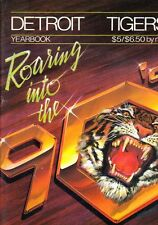 1990 Detroit Tigers Yearbook
