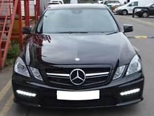 Mercedes W212 Clase E Sport Parrilla Rejilla Negro Amg E200 E220 E250 cortesía E350 E500 E63
