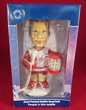 BOBBLE DOBBLES BOBBLE HEAD DOMINIK HASEK DETROIT REDWINGS BLUE BOX JERSEY WHITE