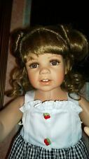 MONIKA LEVENIG MASTERPIECE DOLLS OR DANBURY MINT & HSN PORCELAIN CHERRY KISSES