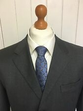 "Mens LUXURY PRADA ""MILANO"" WOOL SUIT In CHARCOAL GREY 42R *EX-CON*"
