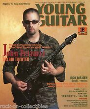 Young Guitar Magazine December 2003 Japan Dream Theater Toto Iron Maiden