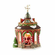 "Department 56 North Pole ""40TH ANNIVERSARY GAZEBO"" New 2016 FREE SHIPPING"