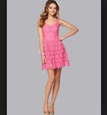 NWT Lilly Pulitzer Calhoun Dress PB Pink Charleston Eyelet sz 12 $228