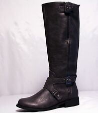G by Guess Hertlez Women's Boots GRAY Multi LL WIDE CALF SIZE 7 MW
