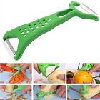 Kitchen Gadgets Helper Vegetable Fruit Peeler Parer Julienne Cutter Slicer L7S