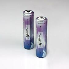 2x TrustFire 18650 2000mAh 3.7V Rechargeable Li-ion Battery w/ PCB Protected ar