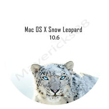 Mac OS X 10.6 Snow Leopard CLEAN INSTALL or UPGRADE on DVD