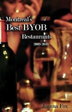 Montreal's Best BYOB Restaurants 2009-2010