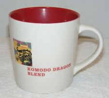 STARBUCKS KOMODO DRAGON BLEND ASIA PACIFIC 16 oz CERAMIC COFFEE MUG EUC