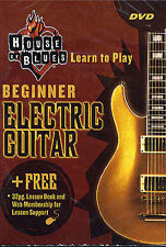 House of Blues BEGINNER ELECTRIC GUITAR DVD Book Learn