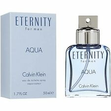 CK ETERNITY AQUA FOR MEN EDT SPRAY VAPO - 50 ml