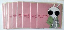 """B)Lot de 15 Cartes Aniverssaire - Fifi Lapin """"Cool""""+ enveloppes"""