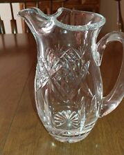 """Waterford Crystal 7""""Water Martini Ice Lip Pitcher 24oz.Excellent Condition!(W#1)"""