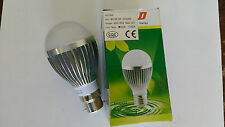 10 + 1 FREE 5W Dimmable BC Cool White LED Light Lamp Bulb Low Energy 240V JobLot