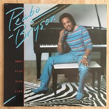 Peabo Bryson DON'T PLAY WITH FIRE 1982 Capitol USA LP ST-12241