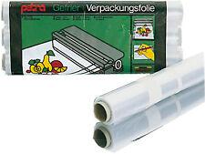 3 Rollen á30m je 30cmx10m Verpackungsfolie Gefrierfolie Frischhaltefolie