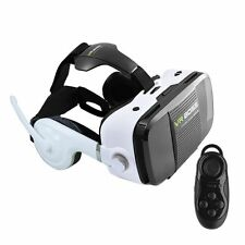 VR BOSS Box 360° 3D Virtual Reality Glasses Movie Game Headset with Earphone Mic