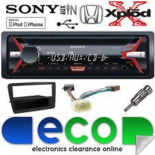Honda Civic EP4 00-06 CDX-G1100U CD MP3 USB AUX per stereo auto nero KIT di montaggio