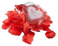 Heart bed of roses 100 x silk rose petals a perfect Valentines - Romantic gift