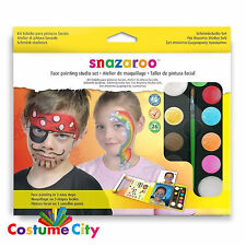 Snazaroo Studio Set Face Paint & Guide Deluxe Make Up Face Painting Kit