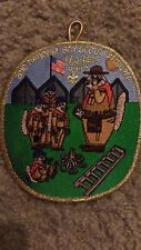 BOY SCOUTS 2010 NAT. BOY SCOUT PAG-MCS STAFF IRON ON PATCH 5X4 1/2 INCH NICE !