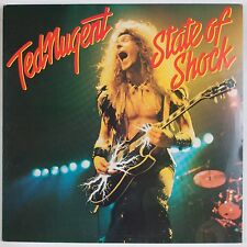 TED NUGENT: State of Shock USA Classic Rock VINYL LP VG+