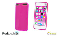 Soft Gel TPU Jelly Case Cover For iPod Touch 6 + Screen Protetor