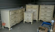 Vintage French Provencial Furniture Dress Chest of Drawers  MAKE OFFER MUST SELL