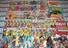 Big Lot of 75 The Avengers comics from #171 to #363 with Annuals from 1978 up