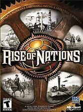 Rise of Nations  (PC, 2003) Rated T for Teen   NEW