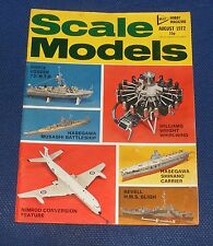 SCALE MODELS AUGUST 1972 - WILLIAMS WRIGHT WHIRLWIND/AIRFIX VOSPER 73' M.T.B.