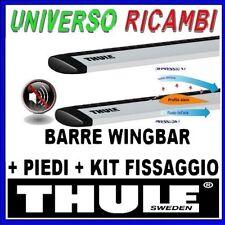 KIT BARRE PORTATUTTO THULE WINGBAR VOLKSWAGEN Tiguan 5-p SUV 2016  Barre Longitu