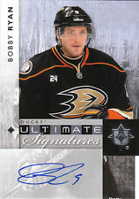 11-12 UD Ultimate Collection Bobby Ryan Ultimate Signatures Auto